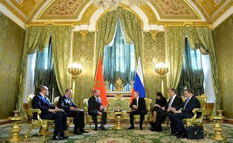 russia  morocco strengthen ties africa