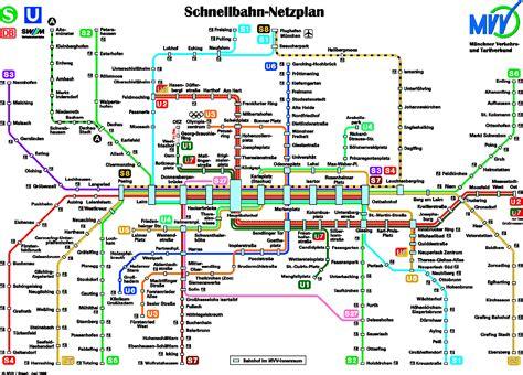 Carte Metro Pdf by Munich Carte De M 233 Tro Munich U Bahn Mapa Metro