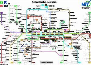 Sbahn München Plan : monaco mappa della metropolitana monaco u bahn metro mapa ~ Watch28wear.com Haus und Dekorationen