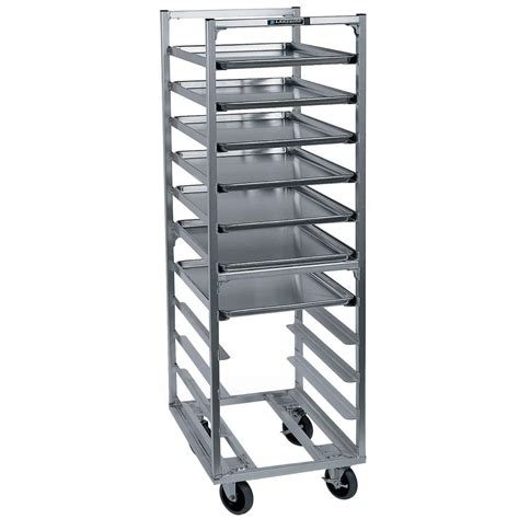 sheet pan rack lakeside 8528 11 pan end load aluminum bun sheet pan