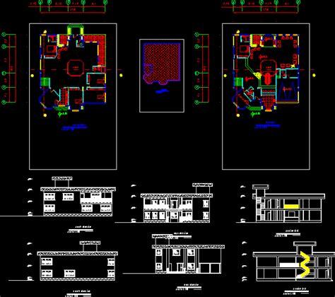 villa dwg block  autocad designs cad