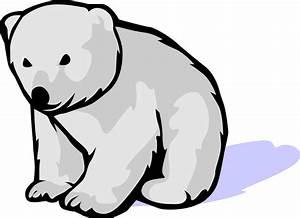 Cute Polar Bear Cartoon - Cliparts.co