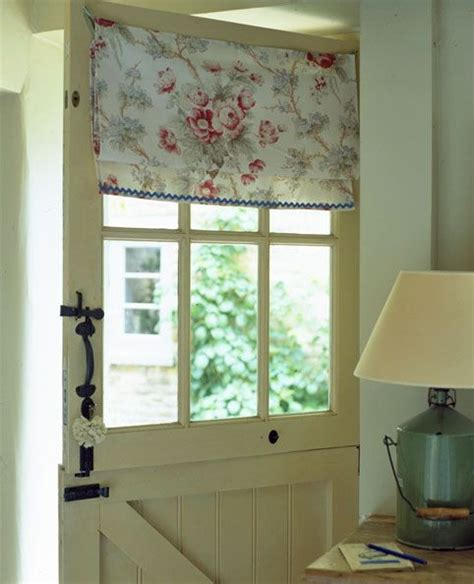 dutch door curtain handle home window treatments