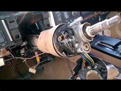 ignition switch replacement  cherokee xj youtube