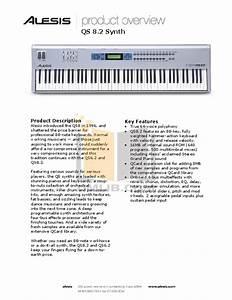 Download Free Pdf For Alesis Qs8 2 Music Keyboard Manual