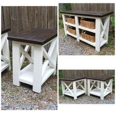 ana white build  rustic  console   easy diy