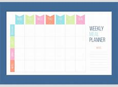 Free Unique Weekly Calendar Vectors Download Free Vector