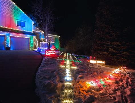 santa runway lights christmas winter pinterest