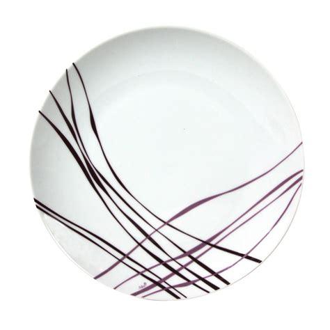 cuisine à la plancha électrique assiette à plate en porcelaine 27 cm lot de 6 liane
