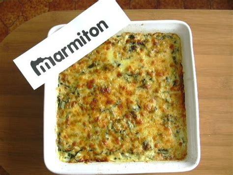 marmiton cuisine rapide gratin de courgettes simple et rapide recette de gratin