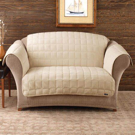 Loveseat Cover Walmart by Sure Fit Deluxe Pet Loveseat Cover Walmart