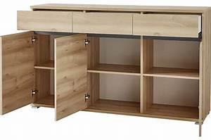 Bahut Buffet Salon Design Dcor Bois Htre 144 Cm Cbc