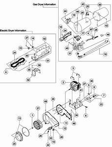 Maytag Model Mde9700ayw Residential Dryer Genuine Parts