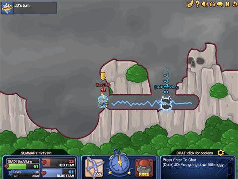 ¡disfruta juegos multijugador en línea! Bad Eggs Online 2 - Strategy - artillería, eggpocalypse, guerra, gusanos, Huevo, huevos, malo ...