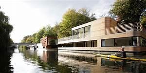 Wohnen Auf Dem Hausboot : architekten rost niderehe neubau hausboot auf dem eilbekkanal ~ Markanthonyermac.com Haus und Dekorationen