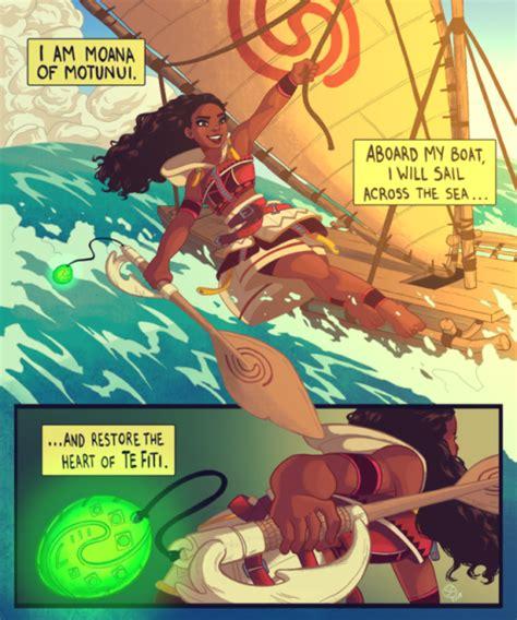 Moana Boat Quote by Moana