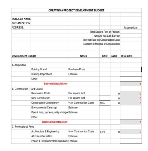 project budget template medical resume