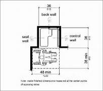 Ada Commercial Bathroom Requirements 2015 by Gallery For Bathroom Stall Elevation