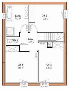 plan maison etage 4 chambres 1 bureau idees novatrices With plan maison etage 4 chambres 1 bureau