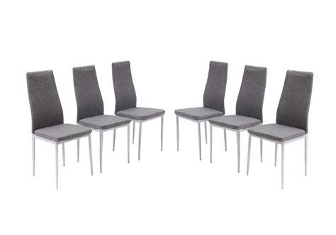 chaise pas cher chaise grise salle a manger pas cher le monde de l 233 a