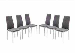 Chaise grise salle a manger pas cher le monde de lea for Chaises de salle à manger pas cher