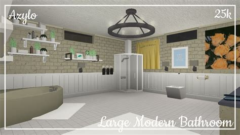 modern bathroom bloxburg home sweet home modern livingroom