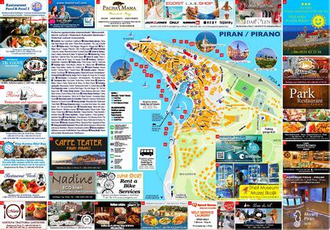 piran tourist map