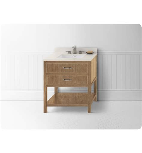 ronbow 052730 r01 newcastle neo classic 30 quot bathroom vanity cabinet base in vintage honey