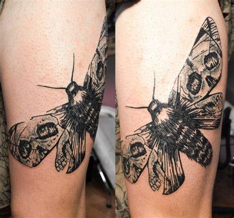 skull wings moth graphic tattoo idea  tattoo ideas