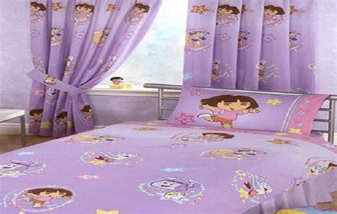 dora  explorer themed bedroom  kid interior