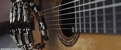 Guitar Robocop Hands Play