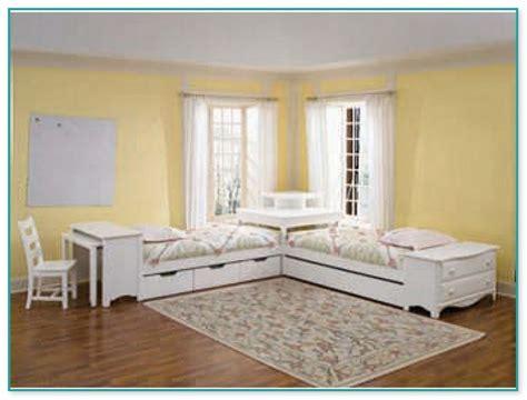 corner twin bed set