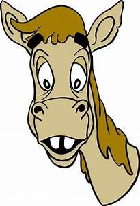 Horse Head Cartoon - Cliparts.co