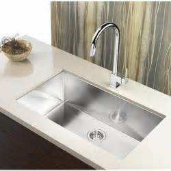touchless kitchen faucet reviews 36 inch stainless steel undermount single bowl kitchen sink zero radius design