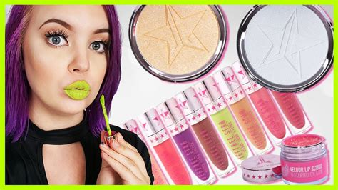 Jeffree Star Summer Chrome Collection (honest Review + Swatches) Youtube