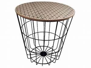 Table Bout De Canapé : bout de canap oriane coloris assortis vente de table et chaises de jardin conforama ~ Teatrodelosmanantiales.com Idées de Décoration