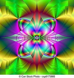 Stock Illustrations of Psychedelic Pattern puter