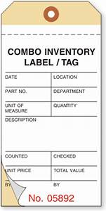 multi part versatile inventory tags With inventory asset tags