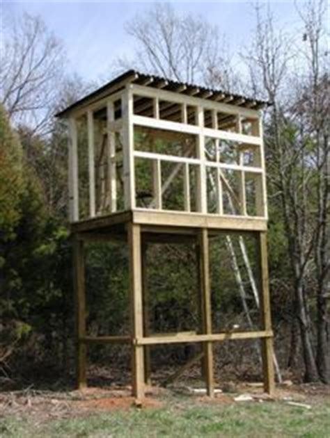 deer blind plans images   deer blind plans