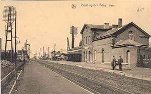 053-station Heist-op-den-berg - Stations In Belgi U00eb -oude Foto U0026 39 S