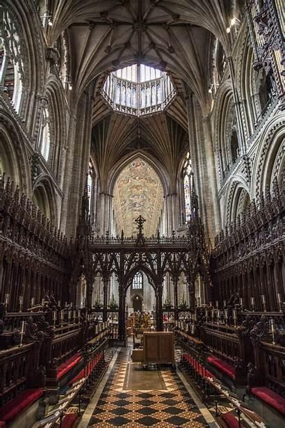 Ely Cathedral Interior Cambridgeshire