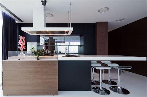 Ravishing Interior By Square One by Black Brown Kitchen