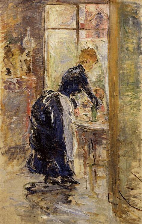 maid servant  berthe morisot wikiartorg