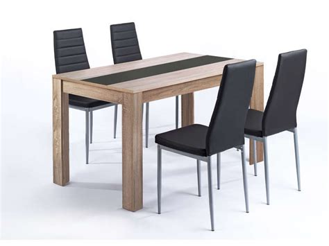 ensemble table chaises cuisine ensemble table et 4 chaises pegasus vente de ensemble table et chaise conforama