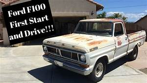 1971 Ford F100 First Start And Drive