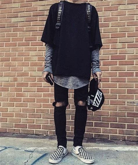 12 Mens Vans Shoe Outfits to Wear for Inspiration - Outfit ...