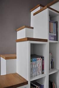 Bibliothèque Escalier Ikea : les 25 meilleures id es de la cat gorie echelle escalier sur pinterest chelle de grenier ~ Teatrodelosmanantiales.com Idées de Décoration