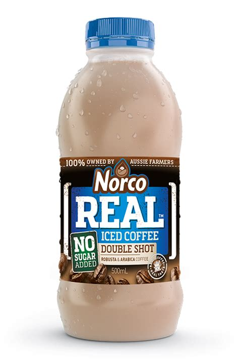 A double shot of espresso is pulled from approximately 14 grams of coffee grounds. REAL Iced Coffee Double Shot - No Added Sugar - Norco Foods