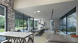 Mur En Pierre Interieur Moderne : home une superbe visualisation 3d par ando studio ~ Melissatoandfro.com Idées de Décoration