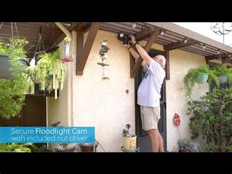 replacing  lights  ring floodlight cam youtube